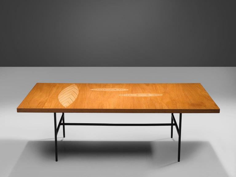 Scandinavian Modern Tapio Wirkkala Coffee Table in Birch For Sale