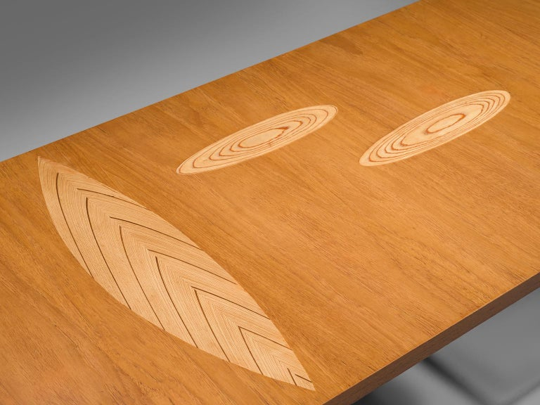 Tapio Wirkkala Coffee Table in Birch In Good Condition For Sale In Waalwijk, NL