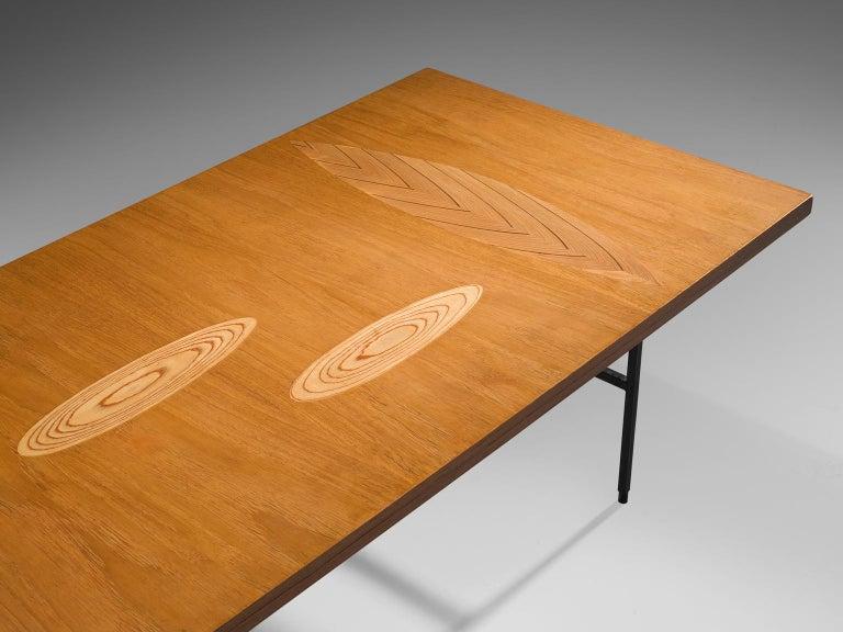 Mid-20th Century Tapio Wirkkala Coffee Table in Birch For Sale