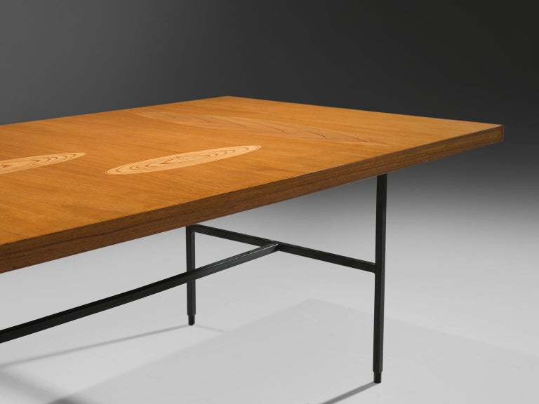 Metal Tapio Wirkkala Coffee Table in Birch For Sale
