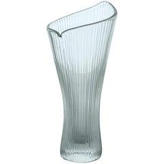 Tapio Wirkkala - Crystal, line cut Art-object, model 3550 - Iittala Finland 1954