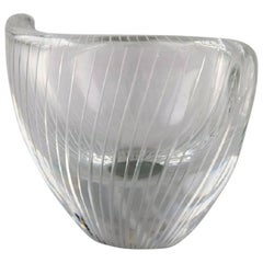 Tapio Wirkkala for Iittala, Finland, 1960s Clear Glass Vase