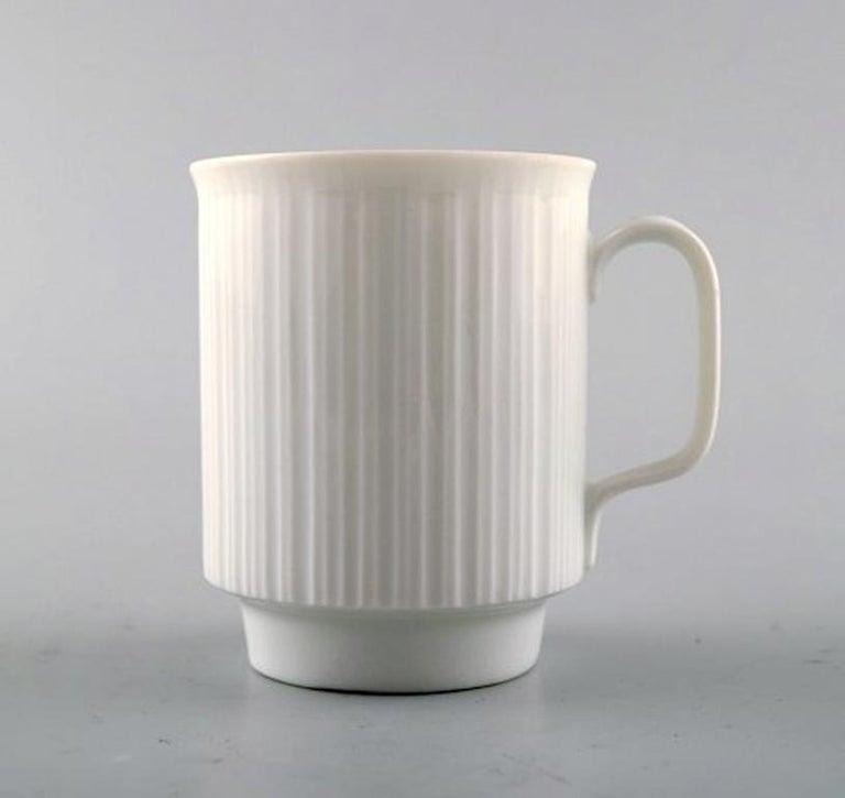 Scandinavian Modern Tapio Wirkkala for Rosenthal Studio-Line Porcelain Noire, Ten Pc. Coffee Service For Sale