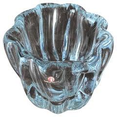 """Tapio Wirkkala Glass """" Tree Stump """" Vase 1980's"""