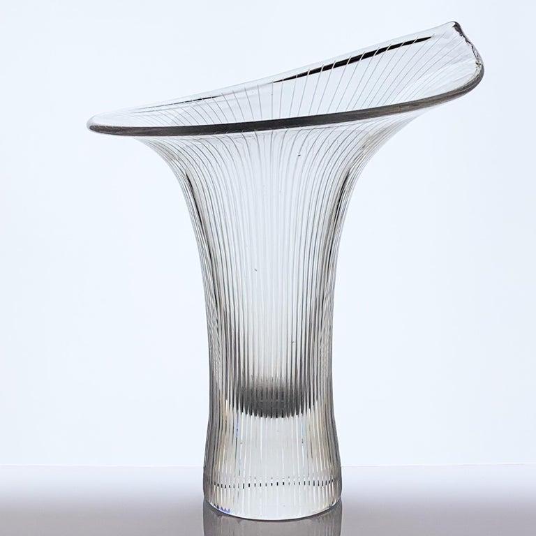 Scandinavian Modern Tapio Wirkkala, Large Crystal Art-Object