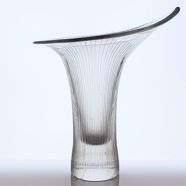 Finnish Tapio Wirkkala, Large Crystal Art-Object
