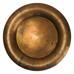 Tapio Wirkkala Large Patinated Bronze Dish Model TW 479, Finland, 1970s