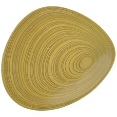 "Tapio Wirkkala Plywood ""Leaf"" Dish, Large and Signed, 1950s, Finland"