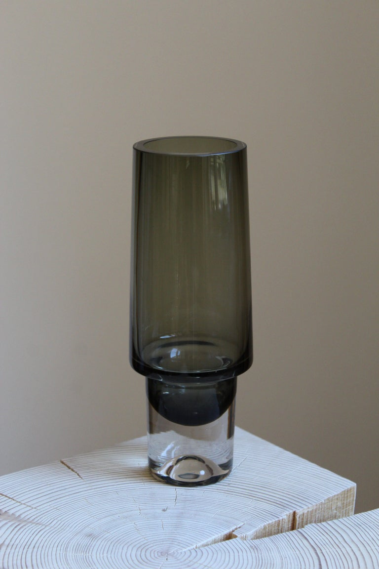 A vase designed by Tapio Wirkkala, produced by Iittala, Finland, 1960s. Signed