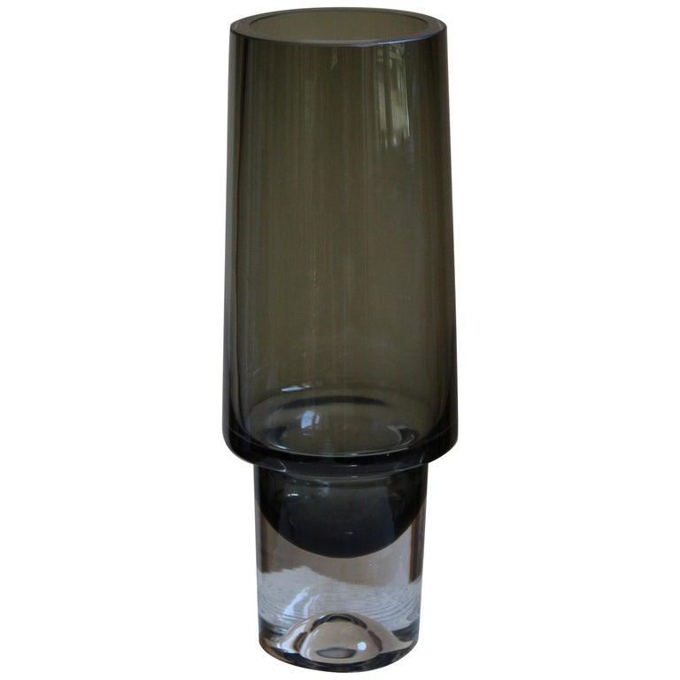 Tapio Wirkkala, Vase, Blown Glass, Iittala, Finland, 1960s For Sale