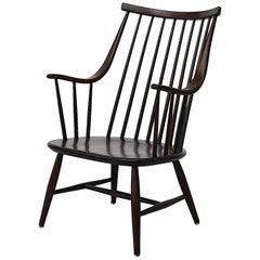 Tapiovaara Style 'Nesto' Spindle Back Armchair by Pastoe