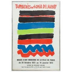 Tapisseries de Sonia Delaunay 1972 Paris Lithograph Poster