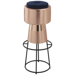Tappo Copper Bar Stool by NOOII