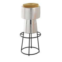 Tappo Silver Bar Stool by NOOII