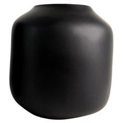 Tara Bajo Rustic Handmade Black Resin Vase