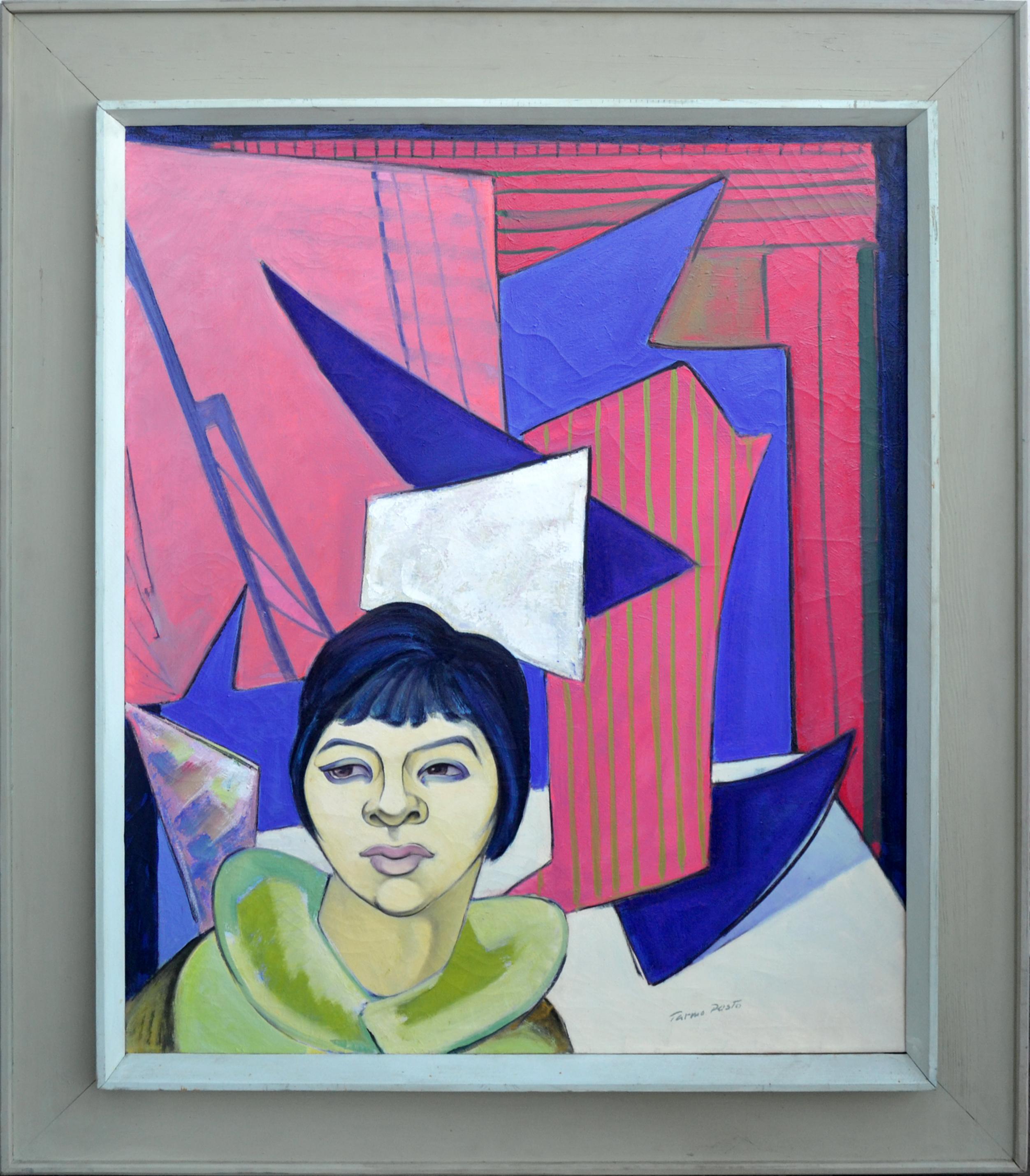 Mid Century Modern Woman Portrait
