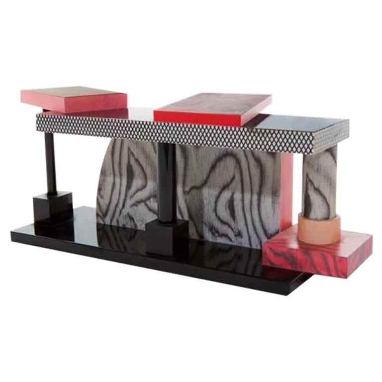 Tartar Table, by Ettore Sottsass from Memphis Milano