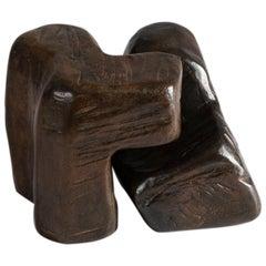 Tarte II, Bronze Sculpture by Zigor 'Kepa Akixo', Pays Basque