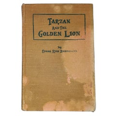 Tarzan and The Golden Lion by Edgar Rice Burroughs McClurg 1st Edition