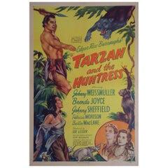 """Tarzan And The Huntress"" '1947' Poster"
