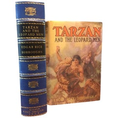 """Tarzan and the Leopard Men"" by Edgar Rice Burroughs, Signed First Edition, 1935"
