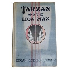 Tarzan and the Lion Man by Edgar Rice Burroughs 1st Edition