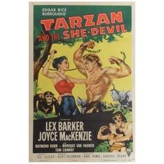 """Tarzan And The She-devil"" 1953 Poster"