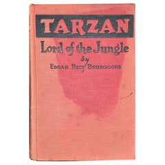 Tarzan Lord of the Jungle First Edition Second Printing