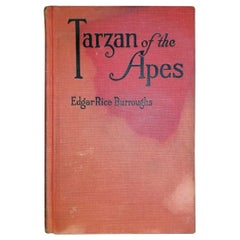 Tarzan of the Apes by Edgar Rice Burroughs Grosset 1st Edition