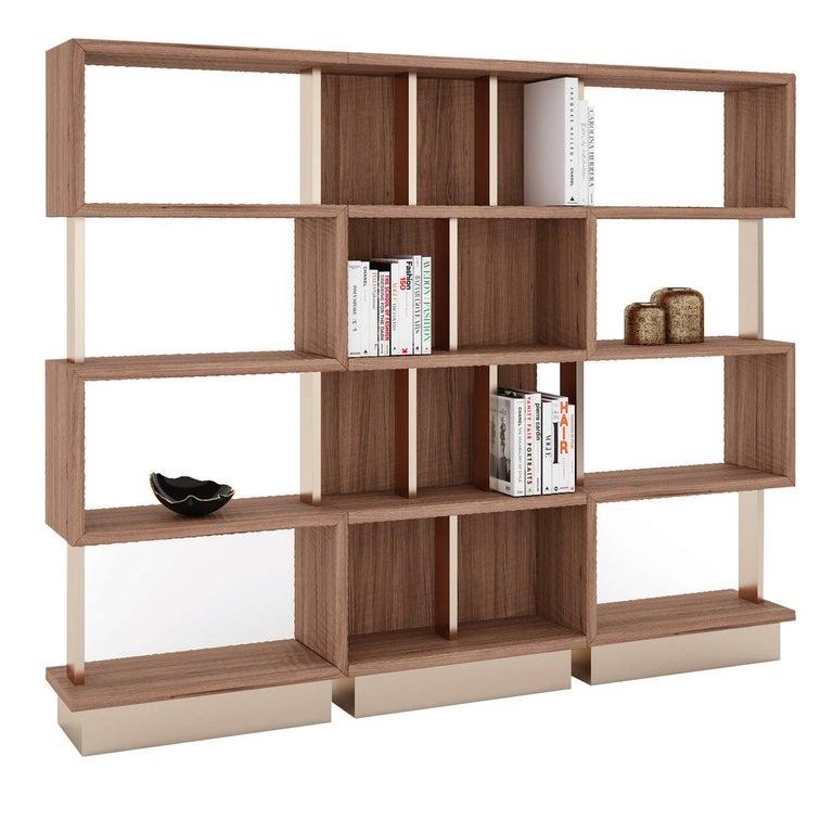 Italian Tarzana Bookcase by Giannella Ventura For Sale