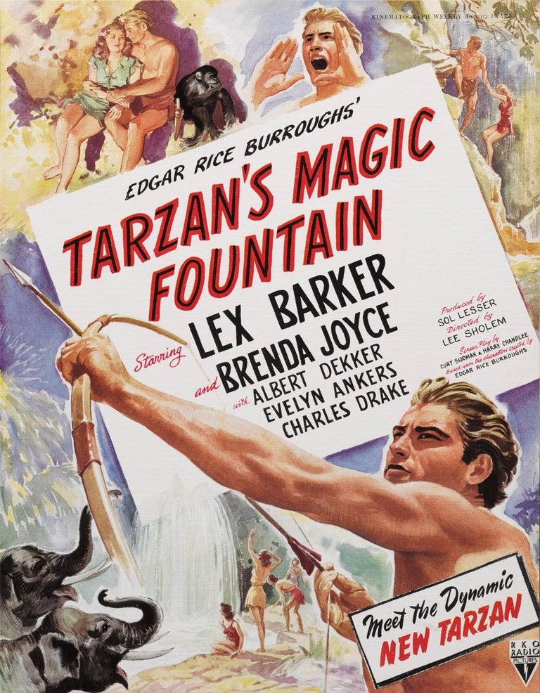 Tarzan's Magic Fountain In Excellent Condition For Sale In London, GB