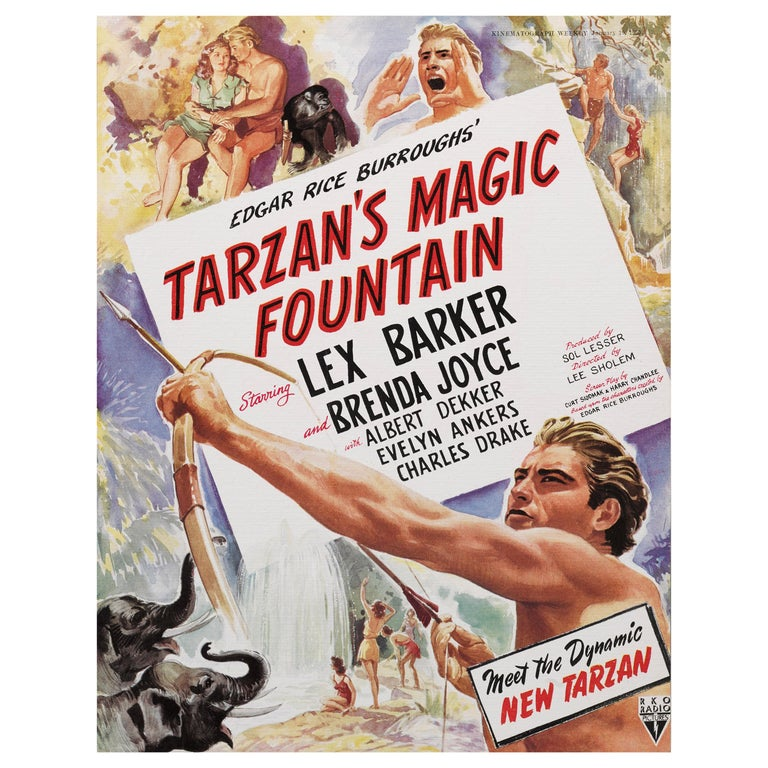Tarzan's Magic Fountain For Sale