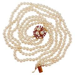 Pearl Multi-Strand Necklaces