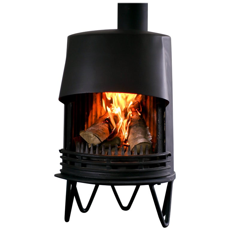 Tasso Danish Fireplace For Sale