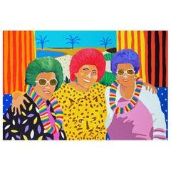 'Taste The Rainbow' Portrait Painting by Alan Fears Pop Art