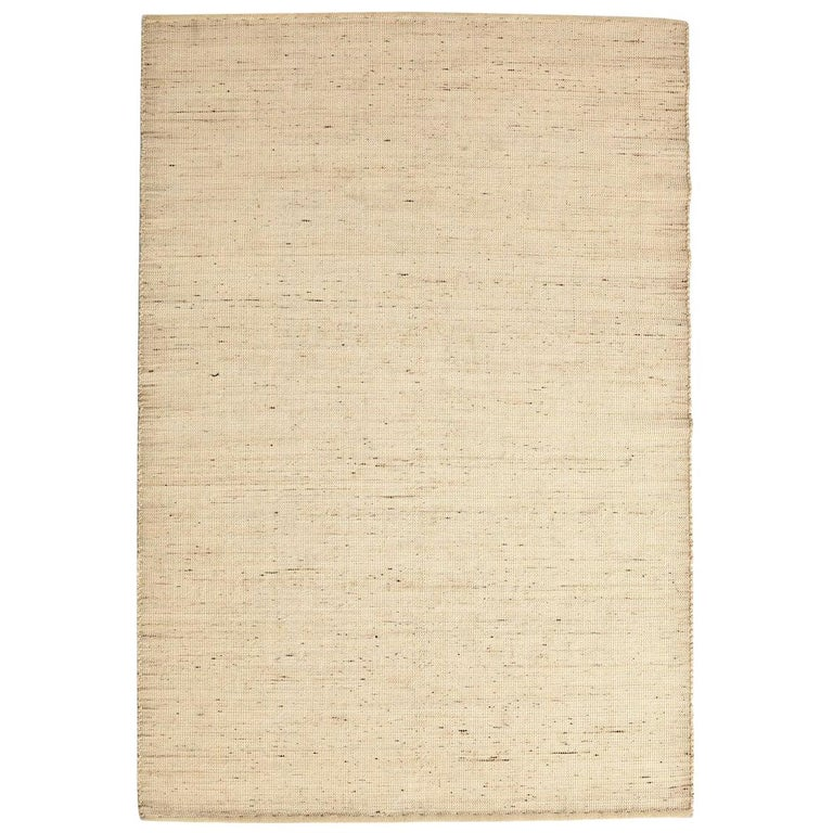 Tatami Standard Natural Wool and Jute Rug by Nani Marquina & Ariadna Miquel For Sale
