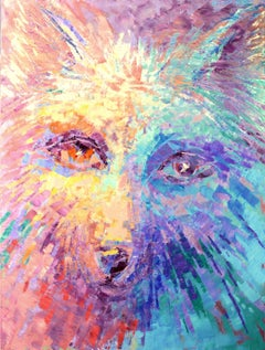 ARCTIC EYES, Painting, Acrylic on Canvas