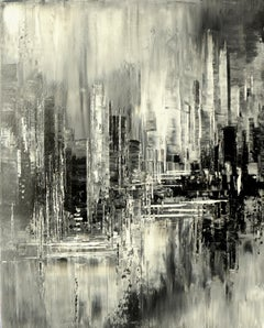 Fleeting Reflections, Abstract Painting