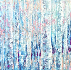 FROSTY MORNING, Painting, Acrylic on Canvas