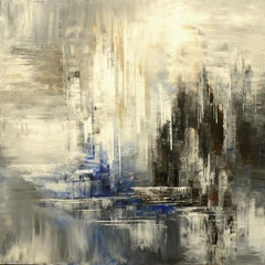 Twilight Shadows, Abstract Painting