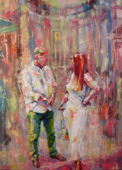 Dialogue, Painting, Oil on Canvas