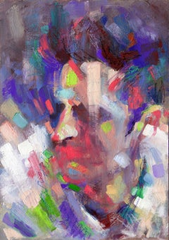 Portrait 5, Painting, Oil on Canvas