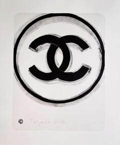 Money, Strength And Poverty #5 (Coco Chanel, Street Art, Contemporary Pop Art)