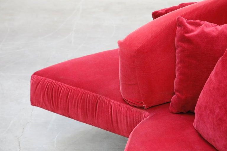 'Tatlin' Center Round Sofa by Mario Cananzi and Roberto Semprini for Edra, 2002 7