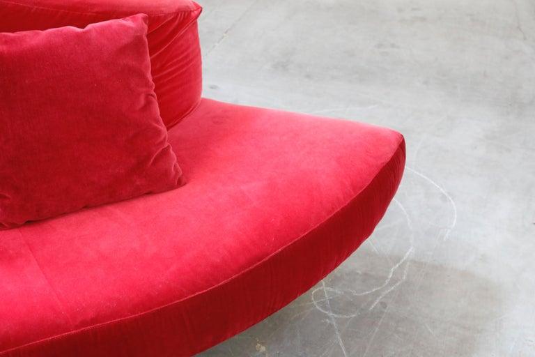 'Tatlin' Center Round Sofa by Mario Cananzi and Roberto Semprini for Edra, 2002 8
