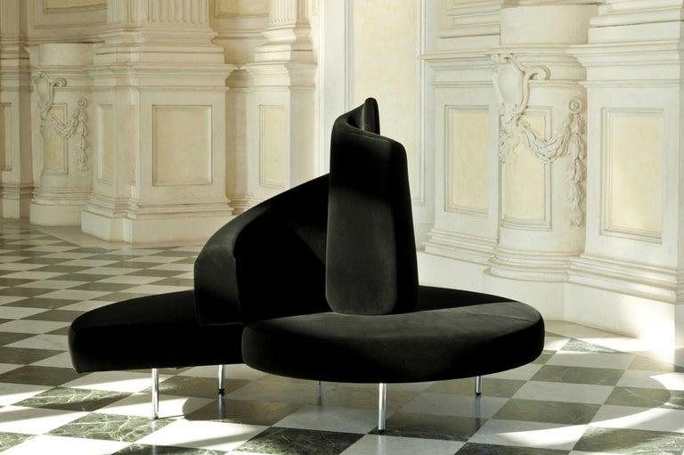 'Tatlin' Center Round Sofa by Mario Cananzi and Roberto Semprini for Edra, 2002 10