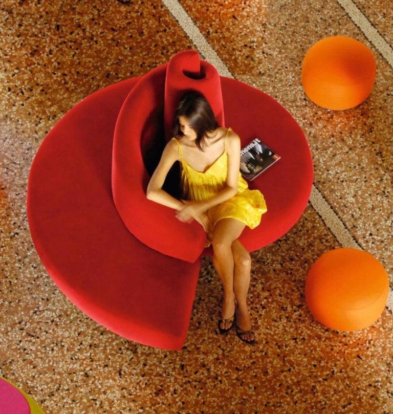 'Tatlin' Center Round Sofa by Mario Cananzi and Roberto Semprini for Edra, 2002 12