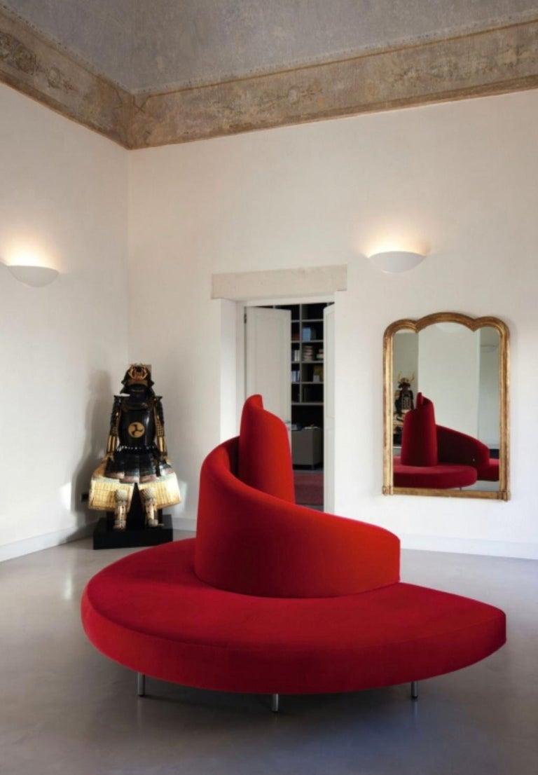 'Tatlin' Center Round Sofa by Mario Cananzi and Roberto Semprini for Edra, 2002 13