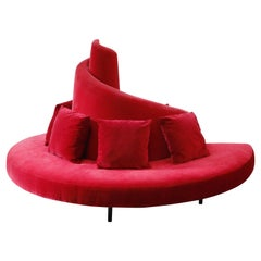 'Tatlin' Center Round Sofa by Mario Cananzi and Roberto Semprini for Edra, 2002