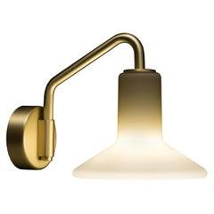 Tato Italia Olly Applique Wall Light in Satin Brass